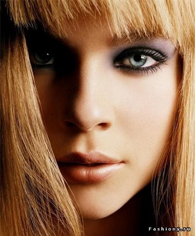 Макияж для голубых глаз