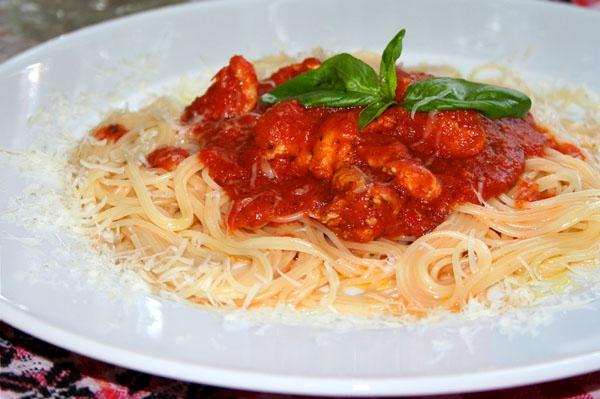 Спагетти и спагеттини - рецепты, статьи на