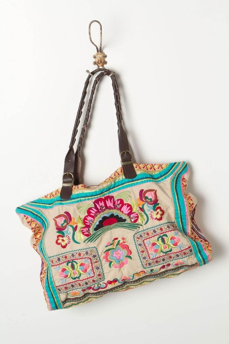 Как украсить матерчатую сумку своими руками?