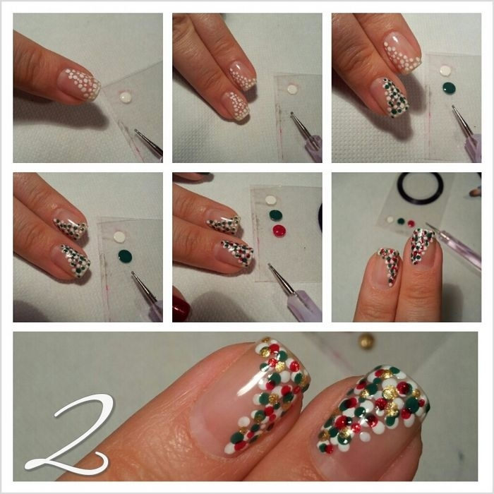 Красивые и простые узоры на ногтях для начинающих