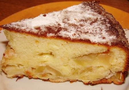 яблочный пирог рецепт шарлотка простой