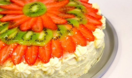 Легкий и красивый торт рецепт 183