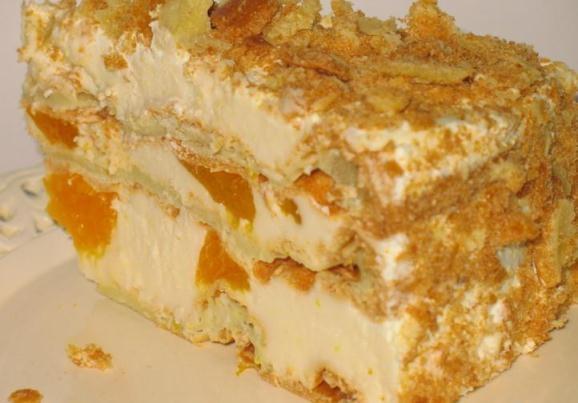 Торт с заварным кремом рецепт с пошагово в домашних