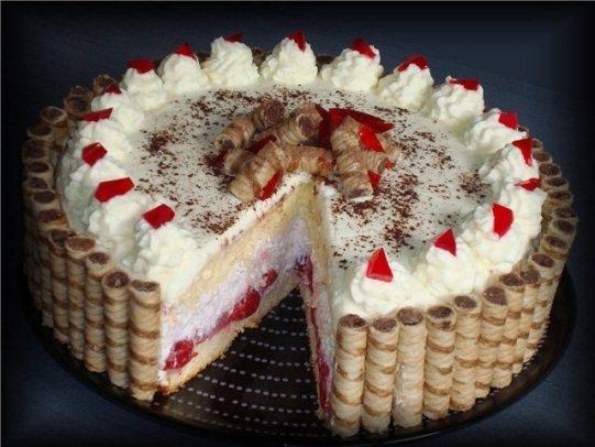 крем для украшеий тортаа