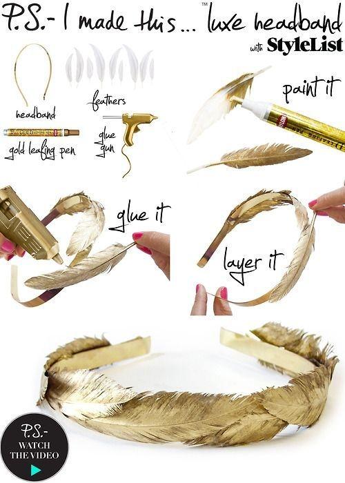 как сделать своими руками свадебные украшение для волос