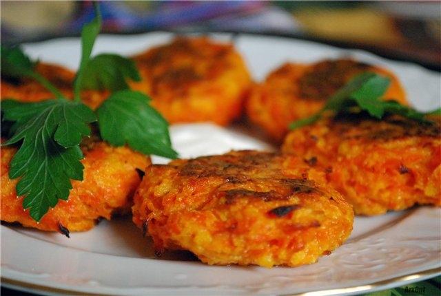 морковные вкусные котлеты рецепт с фото пошагово