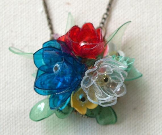 Из пластиковых бутылок цветы своими руками