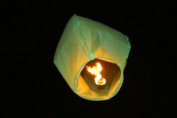 Небесный фонарик своими руками схемы