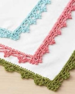 Вязание салфетки крючком для начинающих