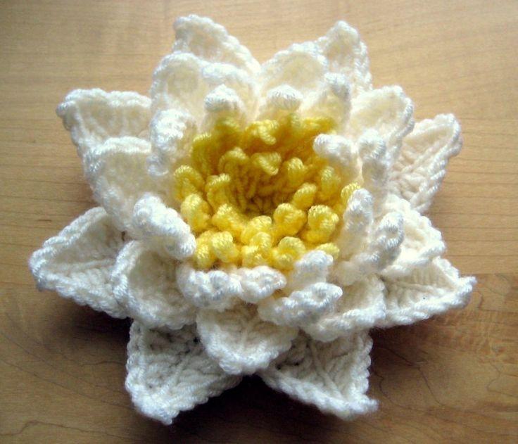Вязание цветов крючком для начинающих