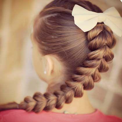 Детские прически для девочек на каждый день