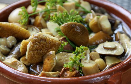 Рецепт соленых белых грибов