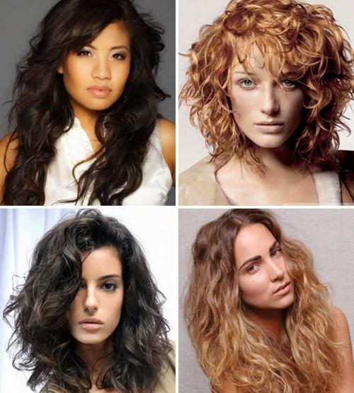 От чего зависит структура вьющихся волос?