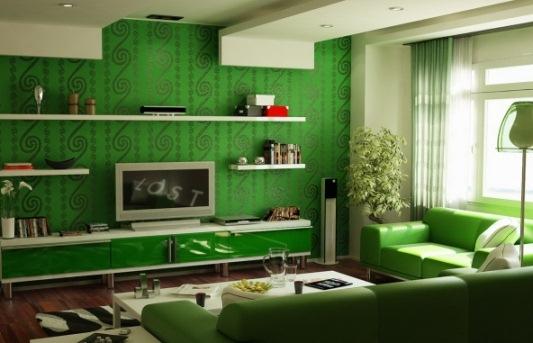 Бутылочный зеленый цвет