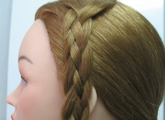 коса из 4-х прядей