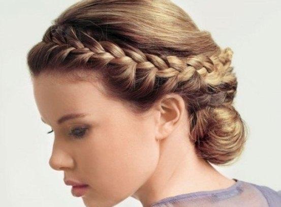 коса во французском стиле