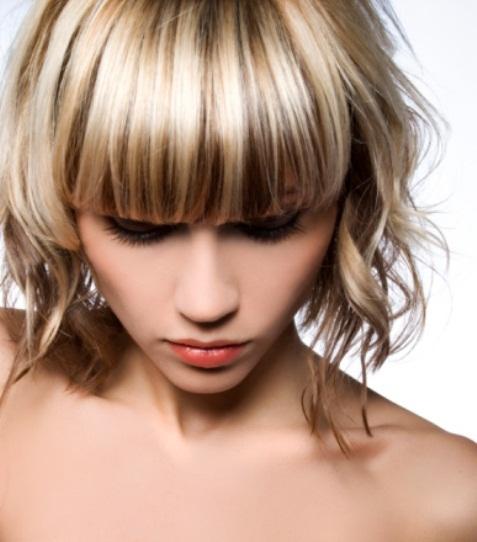 Колорирование на светлые волосы в домашних условиях