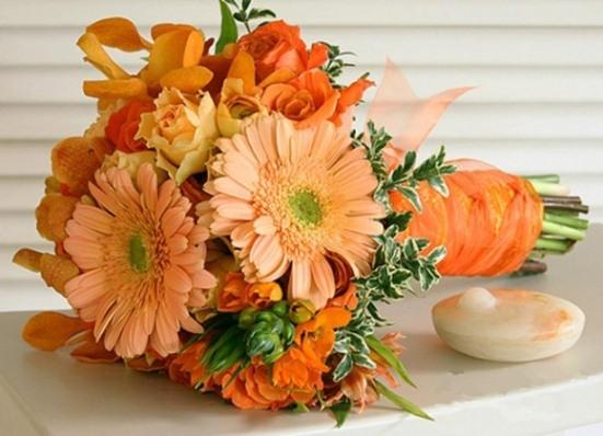 Что означает оранжевый цвет цветов
