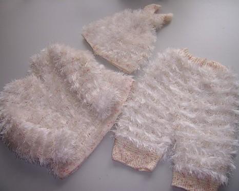 Вязание из травки спицами