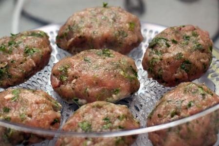 рецепт паровых котлет из свинины в пароварке