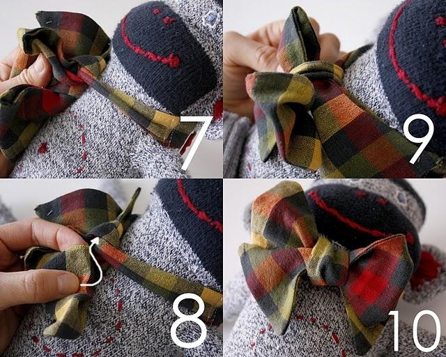 Как сделать галстук на шею своими руками из ткани 22