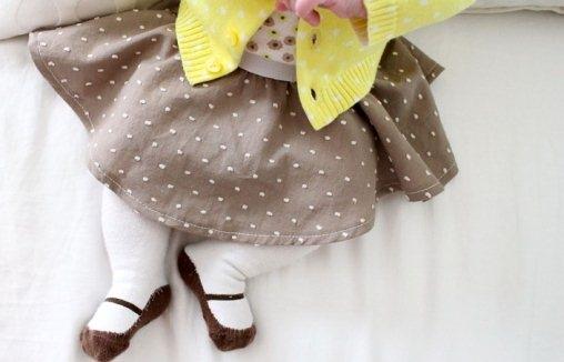 Как сшить юбку солнце на резинке для детей?