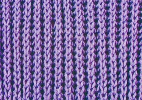 Вязание простой английской резинки спицами