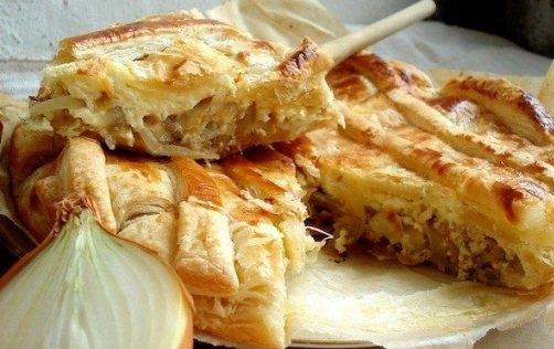 Французский луковый пирог от Юлии Высоцкой