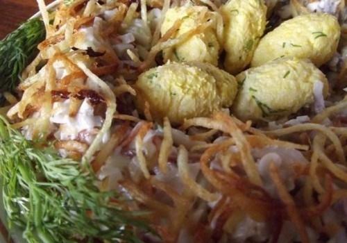 Салат яйца глухаря пошаговый рецепт 62