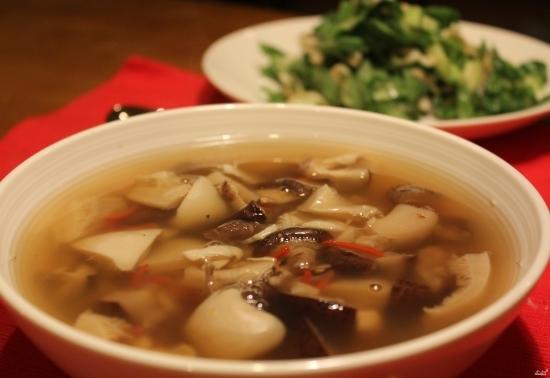 простой грибной суп из замороженных грибов рецепт