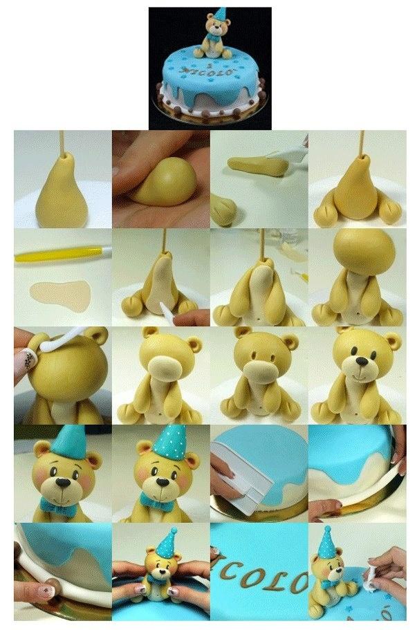 Как из мастики сделать фигурки на торт 449