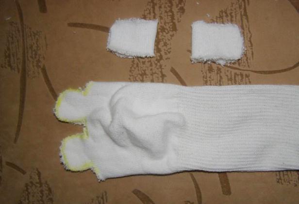 Мишка из носков своими руками