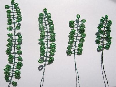 Деревья из бисера своими руками: плакучая ива