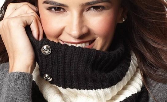 Как носить шарф хомут?