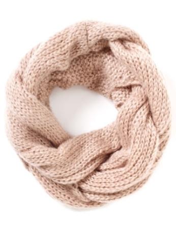 Вязание шарфа хомута с