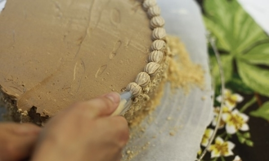 Как красиво сделать надпись на торте фото 783