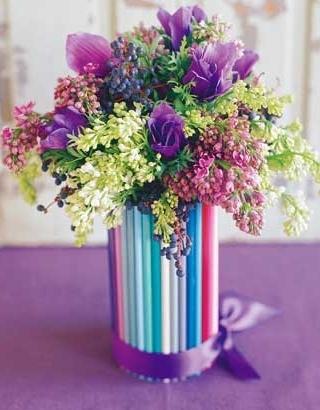 красивые вазы своими руками фото