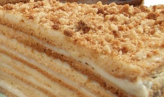 Медовый торт: рецепт домашний