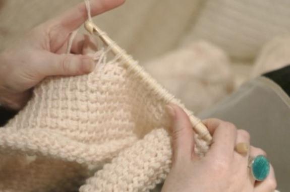 Что такое тунисский крючок для вязания 72
