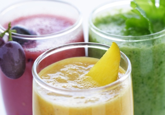 как приготовить коктейль из фруктов на блендере