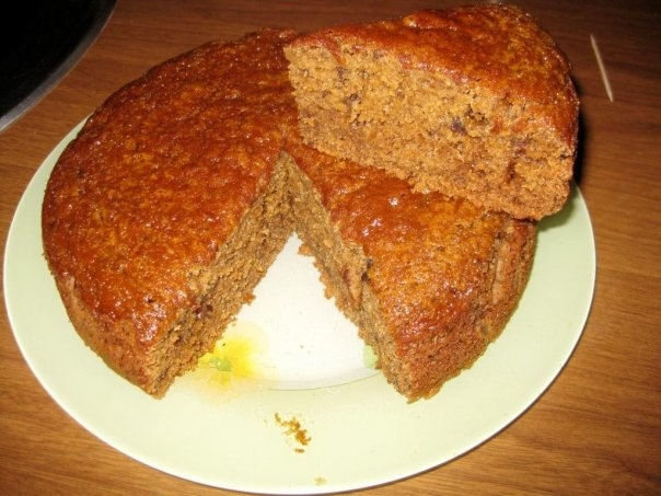 Рассыпчатый быстрый пирог с вареньем