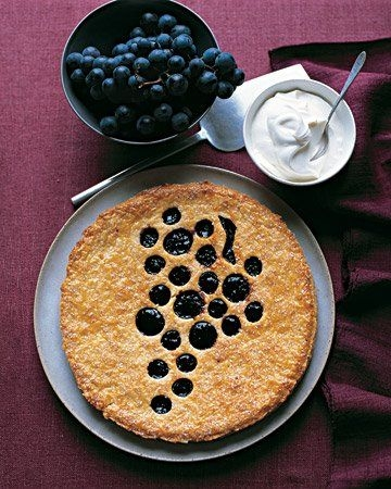 Быстрый пирог с вареньем и кофе