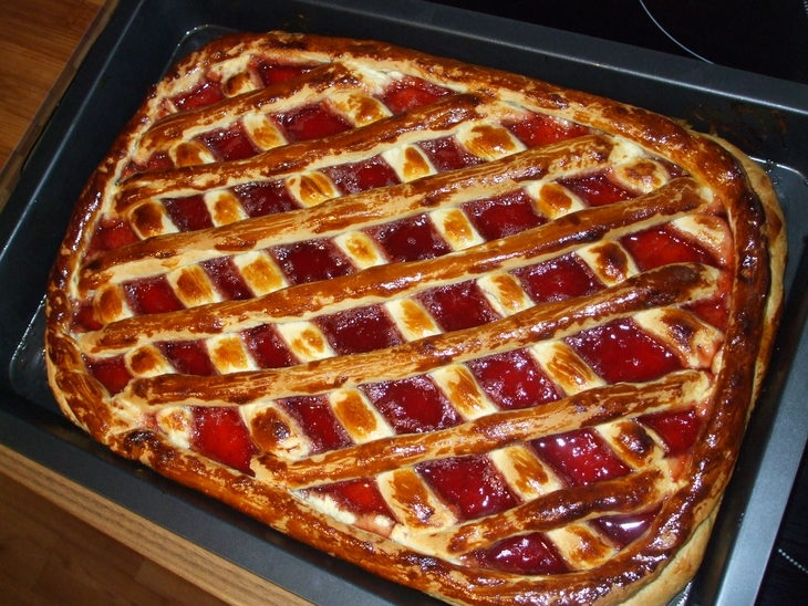 Пирог с вареньем рецепты в духовке 310
