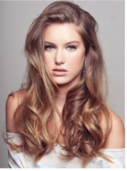 Светло-шоколадный цвет волос фото