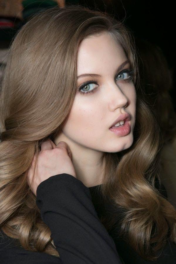 Шоколадный цвет волос 10 фото