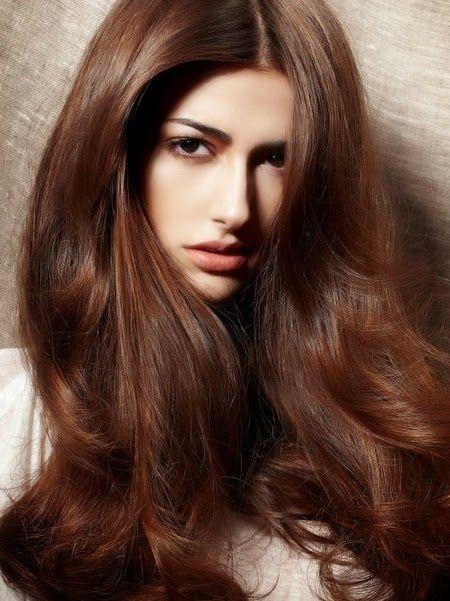 Цвет волос каштановый шоколадный