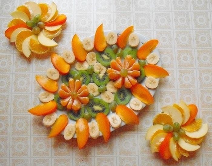 Как красиво нарезать фрукты в домашних условиях