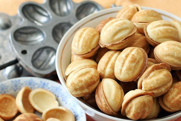 Вкусный рецепт орешков