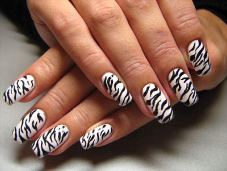 Простые рисунки на ногтях в домашних условиях