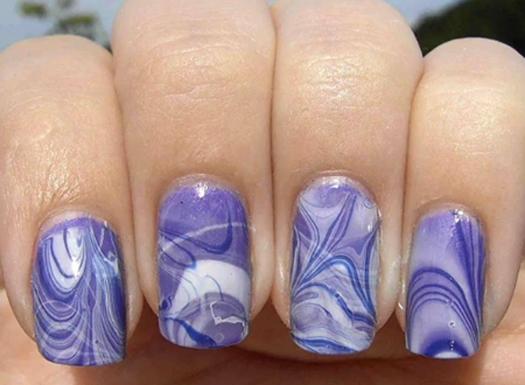 Фото рисунков на ногтях гелевой ручкой 92